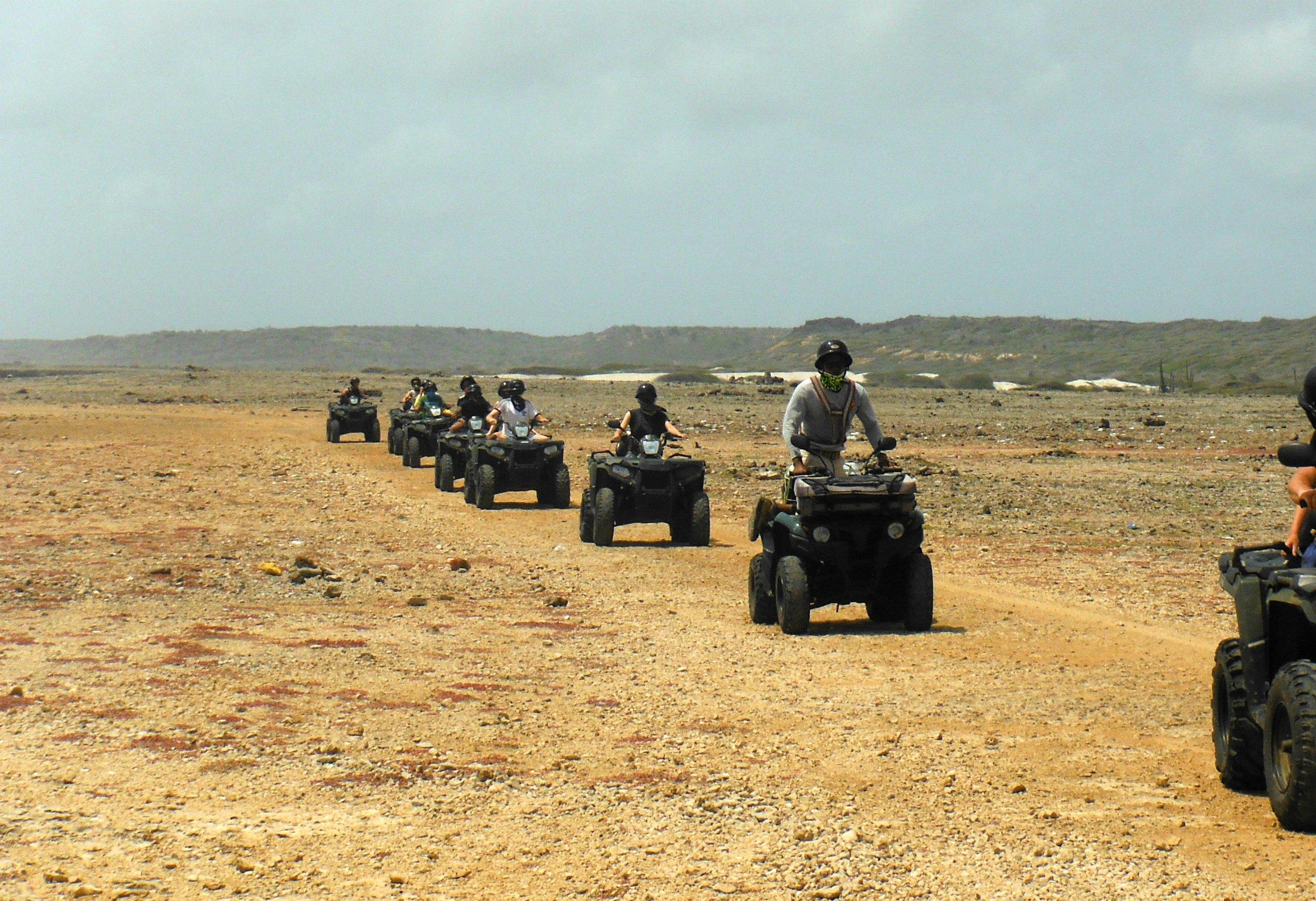 Quadtour oostkust Curacao Eric's ATV Tours