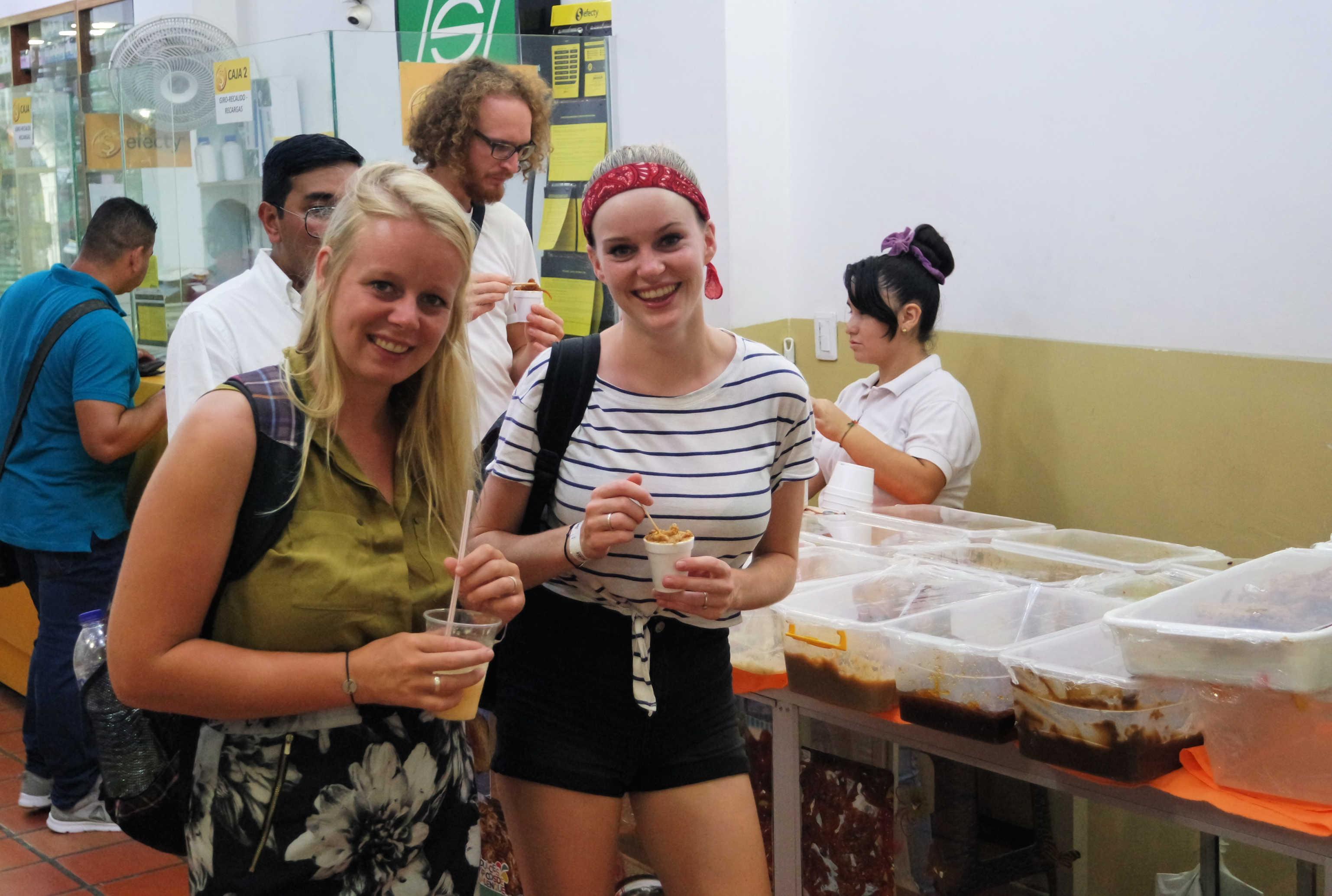 Reisblog Colombia Cartagena Food tour