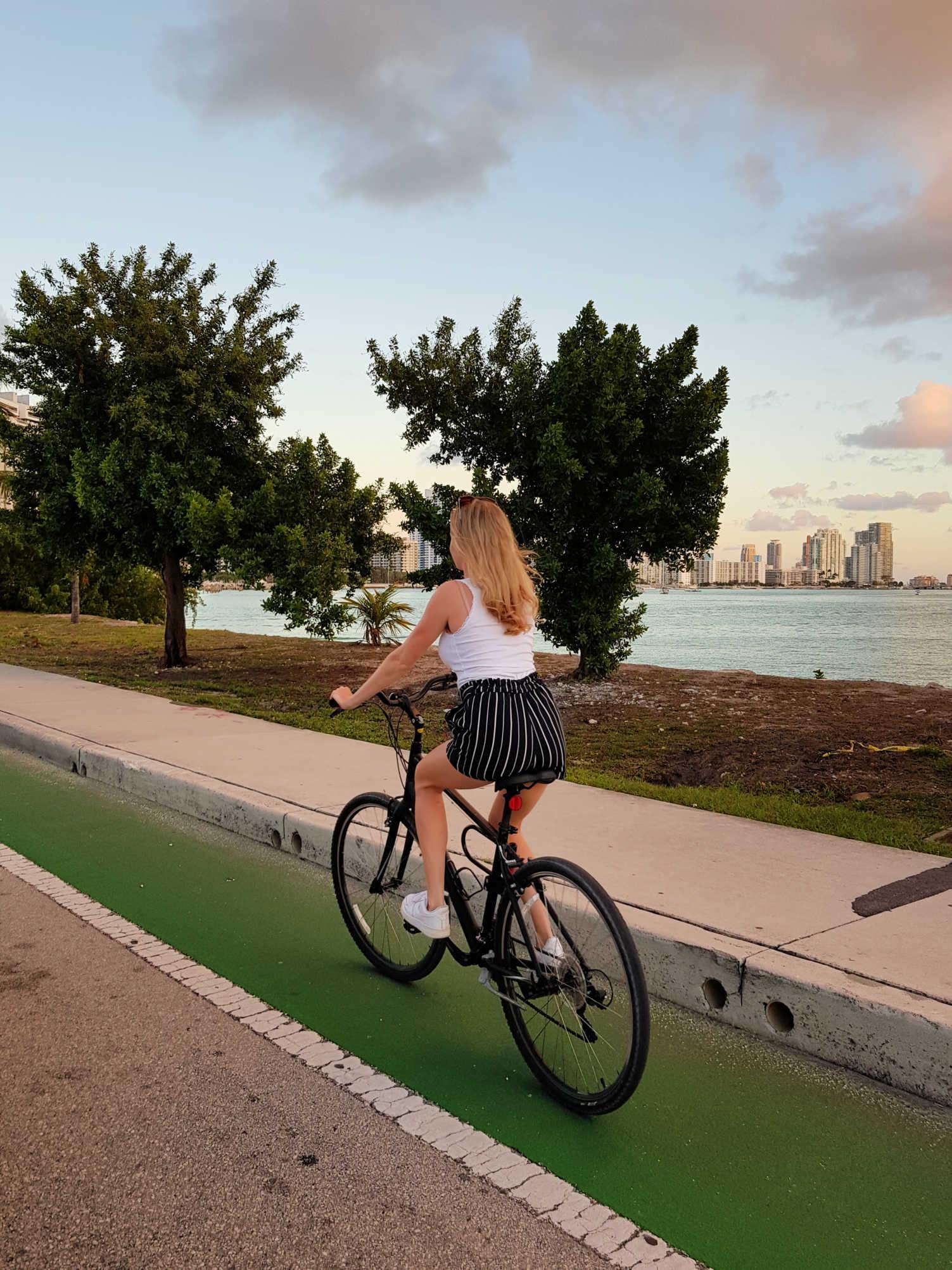 reisblog Miami fietsen