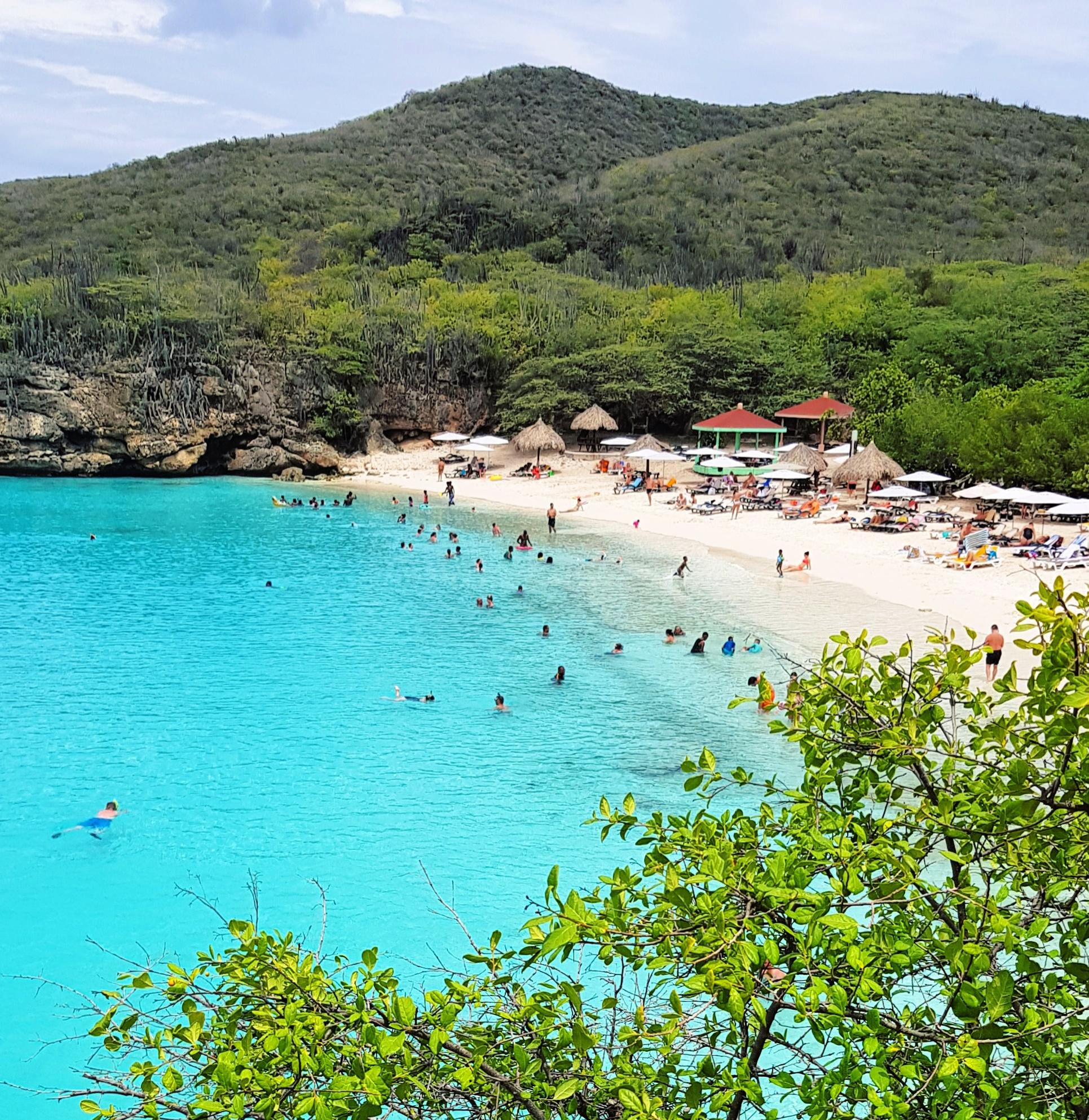 Grote Knip mooiste strand Curacao